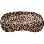 Маска на глаза sLash Satin Love Mask, леопардовая - Фото №1