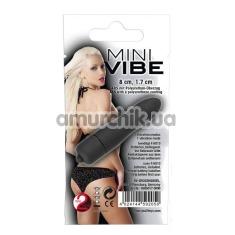 Клиторальный вибратор Mini Vibe, черный