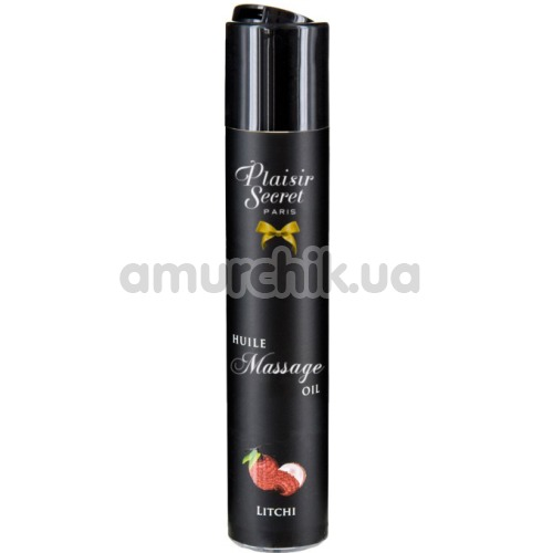 Массажное масло Plaisir Secret Paris Huile Massage Oil Litchi - личи, 59 мл - Фото №1