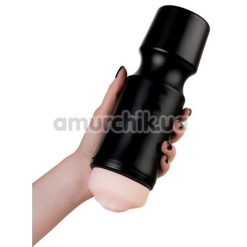 Симулятор орального секса A-Toys Masturbator 763003, чёрный