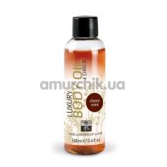 Массажное масло Shiatsu Luxury Body Oil Chocolate Mint - шоколад и мята, 100 мл - Фото №1
