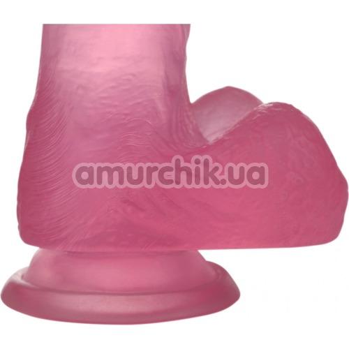 Фаллоимитатор Jelly Studs Small, розовый