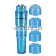 Клиторальный вибратор Compact Pro, голубой