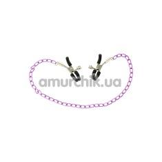 Купить Зажимы для сосков Nipple Chain lila