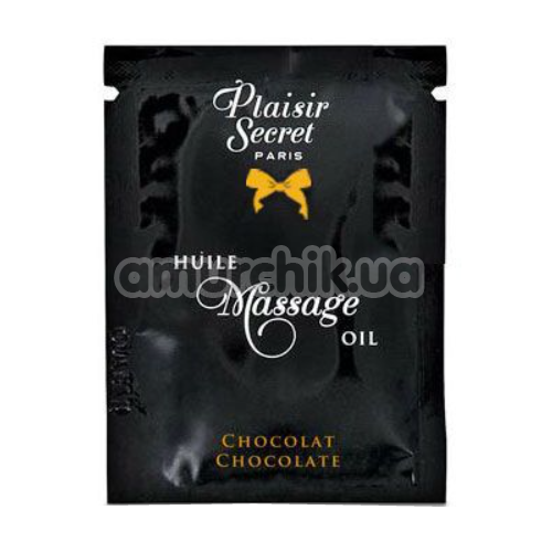 Массажное масло Plaisirs Secrets Paris Huile Massage Oil Chocolate - шоколад, 3 мл