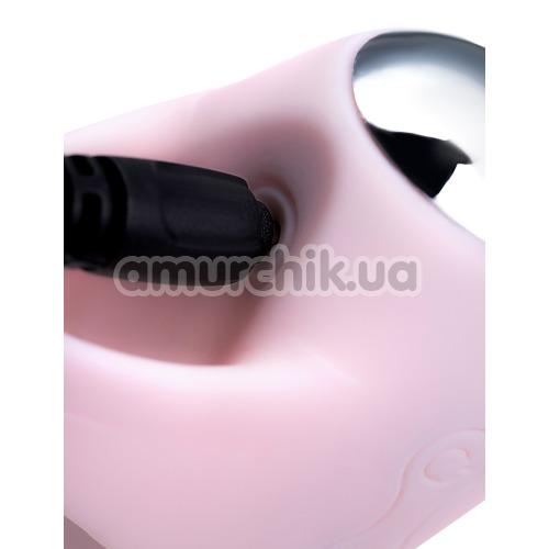 Вибронасадка на палец JOS Dutty, розовая