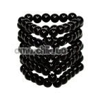 Насадка на пенис Black Beads