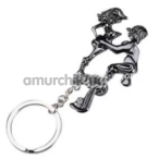 Брелок Funny Sexy Keychain, черный - Фото №1