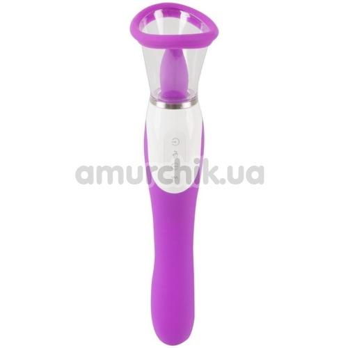 Клиторальный вибратор 3 Function Vibe, фиолетовый