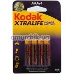 Батарейки Kodak XtraLife LR03 AAA, 4 шт - Фото №1