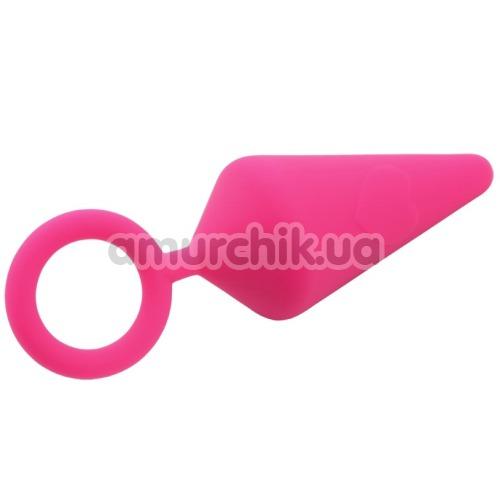 Анальная пробка Sweet Breeze Candy Plug L, розовая