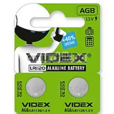 Батарейки Videks LR41 Alkaline Battery, 2 шт - Фото №1