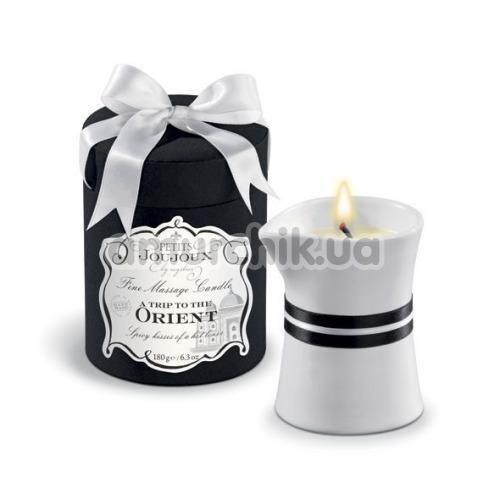 Свеча для массажа Petits Joujoux A Trip To Orient Pomegranate and White Pepper - гранат и белый перец, 190 мл - Фото №1