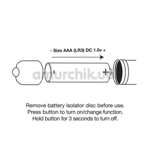 Клиторальный вибратор Rocks-Off Dr Roccos Pleasure Emporium RO-90mm, серебряный