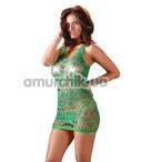 Комплект Mandy Mystery Lingerie Kleid зелёный: платье + трусики-стринги - Фото №1