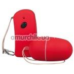 Виброяйцо с дистанционным пультом Lust Control красное