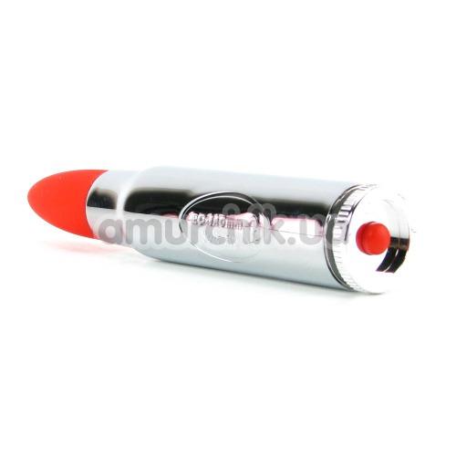 Клиторальный вибратор Rocks Off RO-140 7-speed, красный