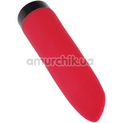 Клиторальный вибратор Magic Motion Smart Lipstick, красный