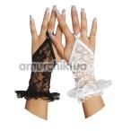 Перчатки Gloves белые (модель 7707)