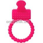 Виброкольцо Silicone Vibro Cock Ring, розовое - Фото №1