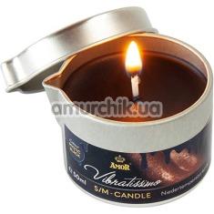 Свеча Amor Vibratissimo S/M Candle Mystic Black, 50 мл - Фото №1