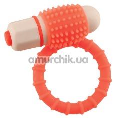 Виброкольцо Euphoria Rings, оранжевое - Фото №1