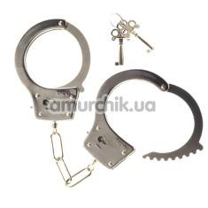 Наручники Kinx Heavy Metal Handcuffs, серебряные - Фото №1