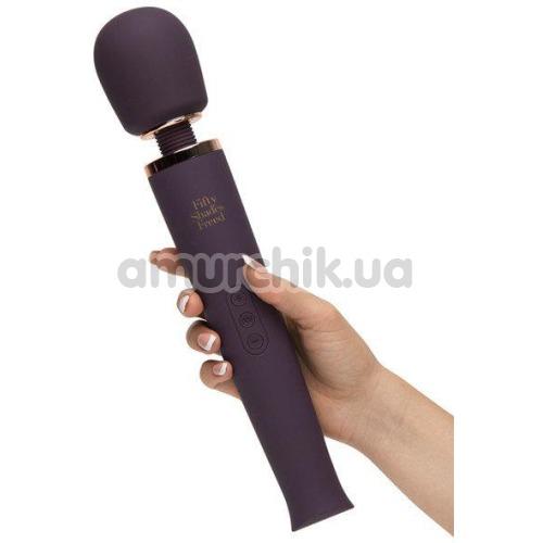 Универсальный массажер Fifty Shades Freed Awash With Sensation, фиолетовый