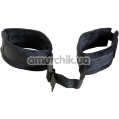 Фиксаторы Theatre Wrist Ankle Cuffs, черные - Фото №1