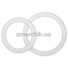 Набор из 2 эрекционных колец PotenzDuo Medium, прозрачный