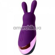 Клиторальный вибратор Eromantica Bunny, фиолетовый - Фото №1