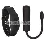 Виброяйцо Wristband Remote Petite Bullet, черное - Фото №1