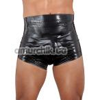 Трусы мужские Latex Diaper Pants, черные - Фото №1