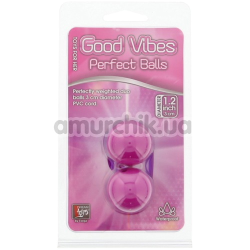 Вагинальные шарики Good Vibes Perfect Balls, лиловые