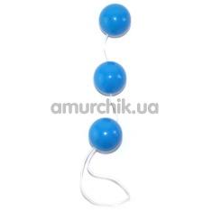 Анально-вагинальные шарики Sexual Balls, голубые
