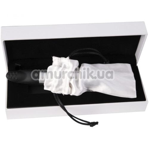 Клиторальный вибратор-флешка Qvibry Memo, черный