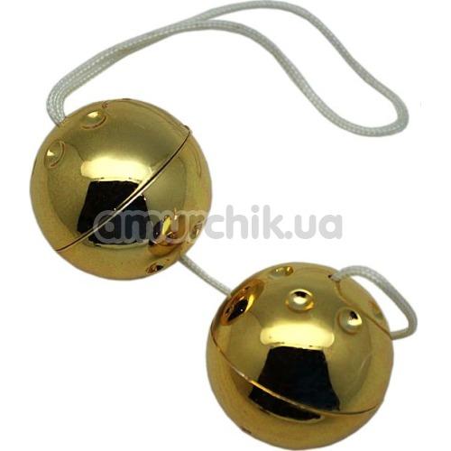 Вагинальные шарики Yam Balls, золотые