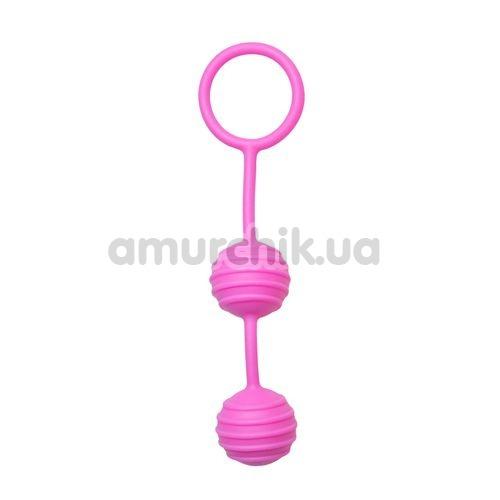Вагинальные шарики Easy Toys Pleasure Balls, розовые - Фото №1
