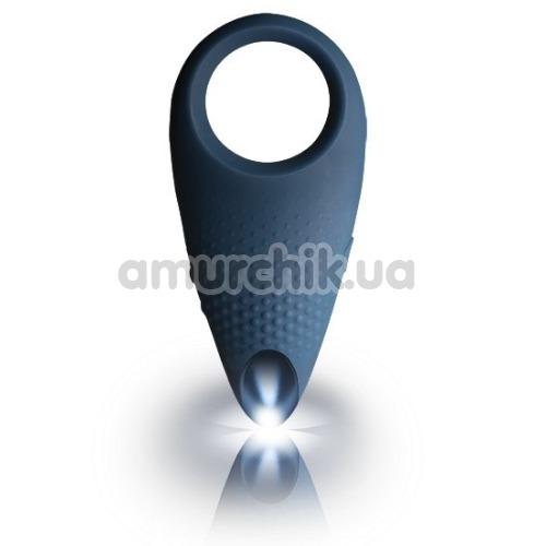 Виброкольцо Rocks-Off Empower Men-X, синее