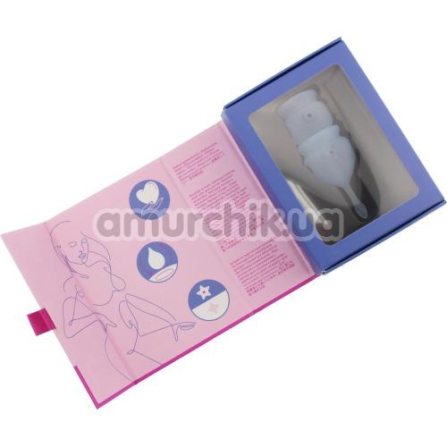 Набор из 2 менструальных чаш Satisfyer Feel Good, синий