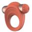 Виброкольцо Charismatic Clea, оранжевое - Фото №3