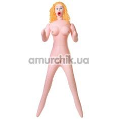 Секс-кукла с вибрацией Dolls-X Celine - Фото №1