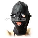 Маска с вырезами для глаз и рта Spade, черная - Фото №1