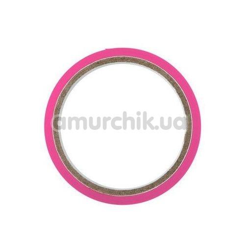Бондажная лента Fetish Tentation Enjoy Pain, ярко-розовая
