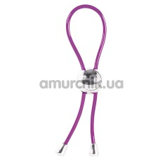 Эрекционное кольцо Hard To Please Joy Ring, фиолетовое - Фото №1