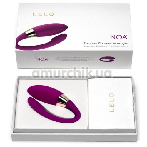 Вибратор Lelo Noa (Лело Ноа), розовый