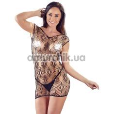 Комплект Netzkleid und String 2716763 чёрный: платье + трусики-стринги - Фото №1