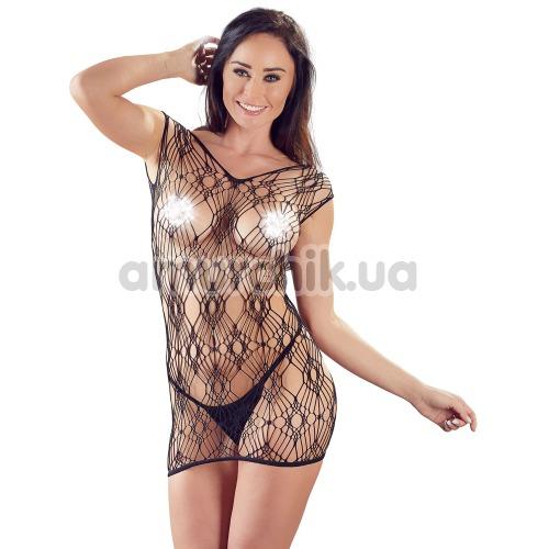 Комплект Netzkleid und String 2716763 чёрный: платье + трусики-стринги