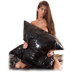 Чехол для подушки Vinyl Pillow Case, черный - Фото №1