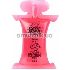 Оральный лубрикант Sex Tarts Cherry Pop - вишня, 6 мл - Фото №1